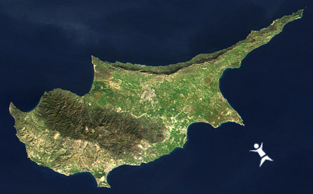 זיבלון שוחה בקפריסין