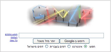 גוגל דודל, המצאת קרן הלייזר, גוגל