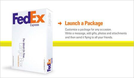FedEx - Launch a Package, אפליקציית פייסבוק
