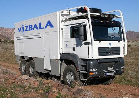 משאית זבל מפוארת, הרכב של המזבלה