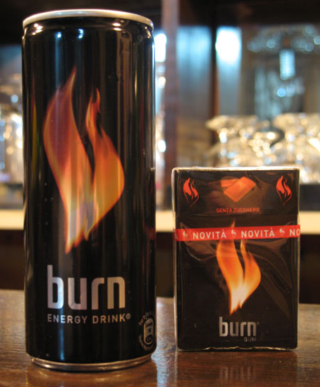 Coke Burn, משקה אנרגיה, קוקה קולה