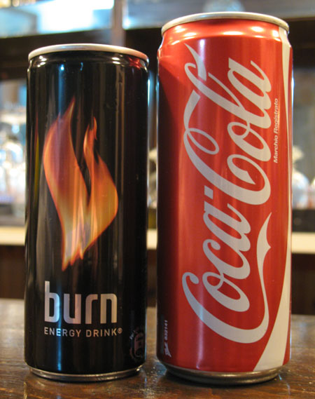 קוקה קולה בפחית מוזרה