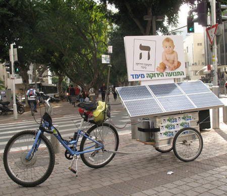 התנועה הירוקה מימד, אופניים סולאריים