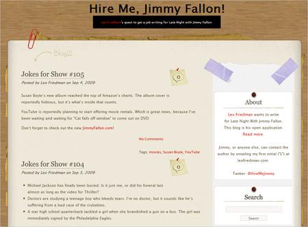 Hire Me, Jimmy Fallon!