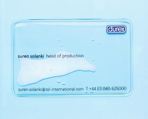 כרטיס הביקור של אחת מחברות הבת של דורקס