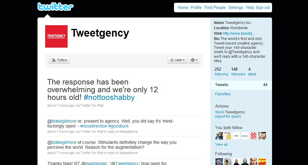 Tweetgency - משרד פרסום בטוויטר