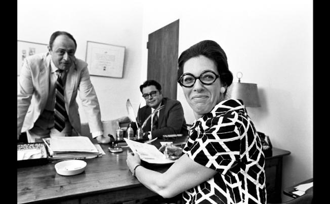 ישיבת קריאייטיב בשלהי שנות ה-60
