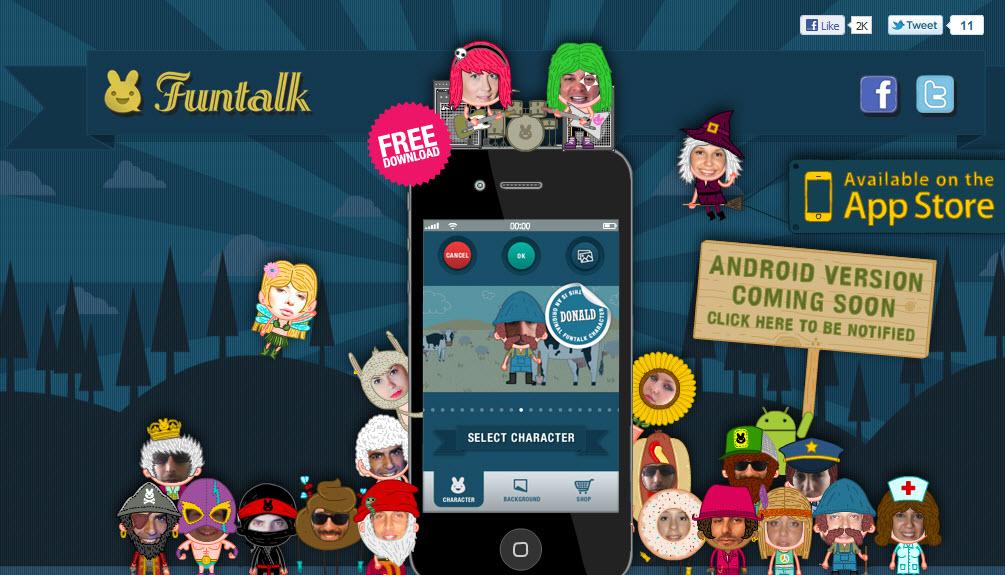 אפליקציית Funtalk