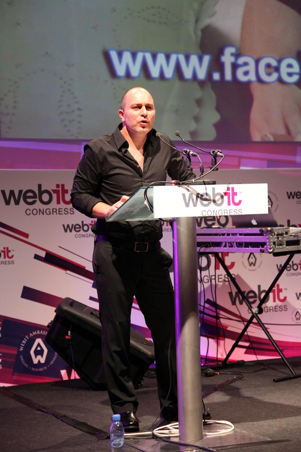ליאור רז - שפיגלר הכריש בכנס Webit