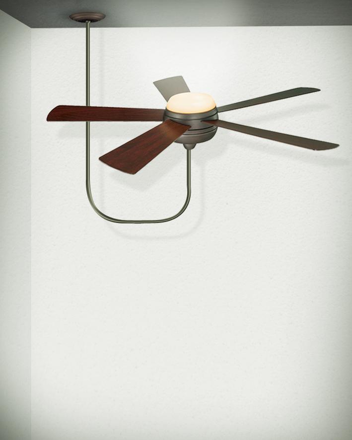 מאוורר תקרה - מוצר איום