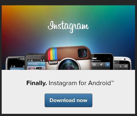 Instagram מהיום גם לאנדרואיד