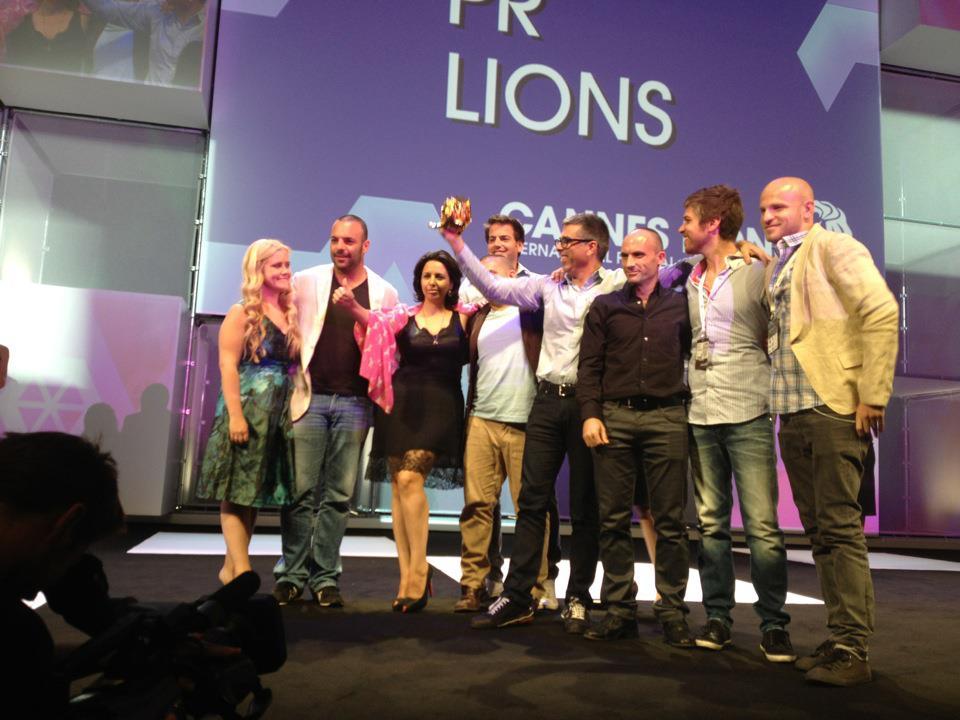 פסטיבל קאן 2012: באומן בר ריבנאי עם 3 אריות זהב!
