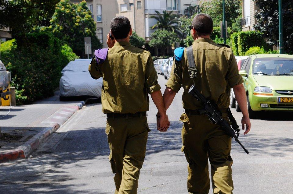 """רץ בפייסבוק: חודש הגאווה הבינלאומי של חיילי צה""""ל"""