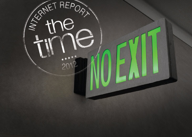 """דה טיים: דו""""ח האינטרנט לשנת 2012"""