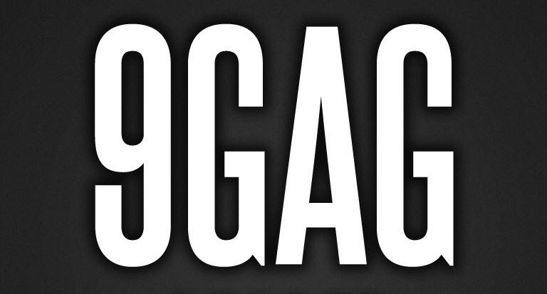 לוגו אתר 9GAG