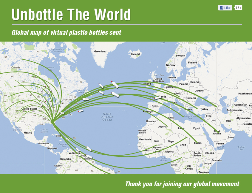 Unbottle the World - סודה סטרים