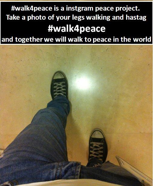 Walk4Peace - אביעד רוזנברג עושה שלום עולמי באמצעות תמונות באינסגטרם
