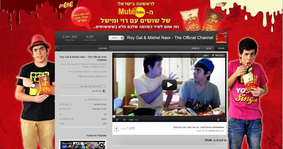 ה-MuteTube של שושים עם רוי ומישל