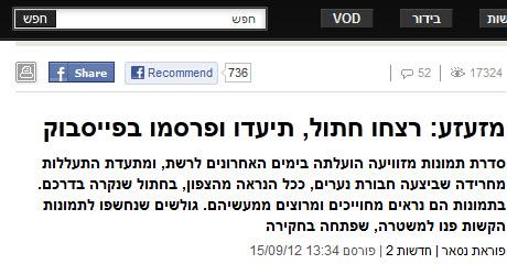 חדשות ערוץ 22 ומאקו טעו או הוטעו? התמונה המזעזעת והידיעה על עריפת ראשו של החתול כלל לא התרחשה בישראל