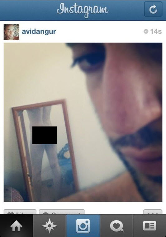 אינסטגרם: אופססס השחקן אבי דנגור לומד על בשרו שלא להעלות תמונות על הבוקר