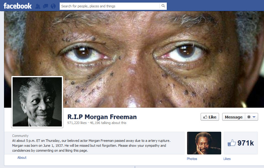 R.I.P Morgan Freeman