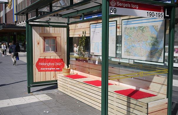 40 דוגמאות לפרסום קריאייטיבי וחכם בתחנות אוטובוס (28)