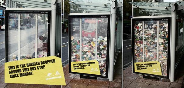 40 דוגמאות לפרסום קריאייטיבי וחכם בתחנות אוטובוס (22)