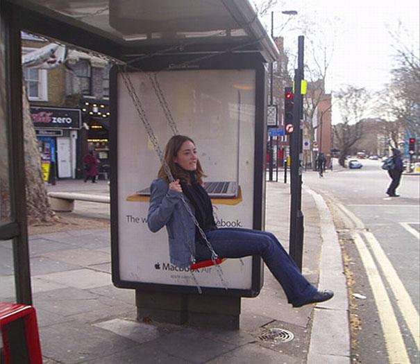 40 דוגמאות לפרסום קריאייטיבי וחכם בתחנות אוטובוס (19)