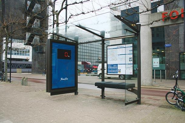 40 דוגמאות לפרסום קריאייטיבי וחכם בתחנות אוטובוס (10)