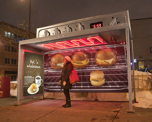 40 דוגמאות לפרסום קריאייטיבי וחכם בתחנות אוטובוס (2)