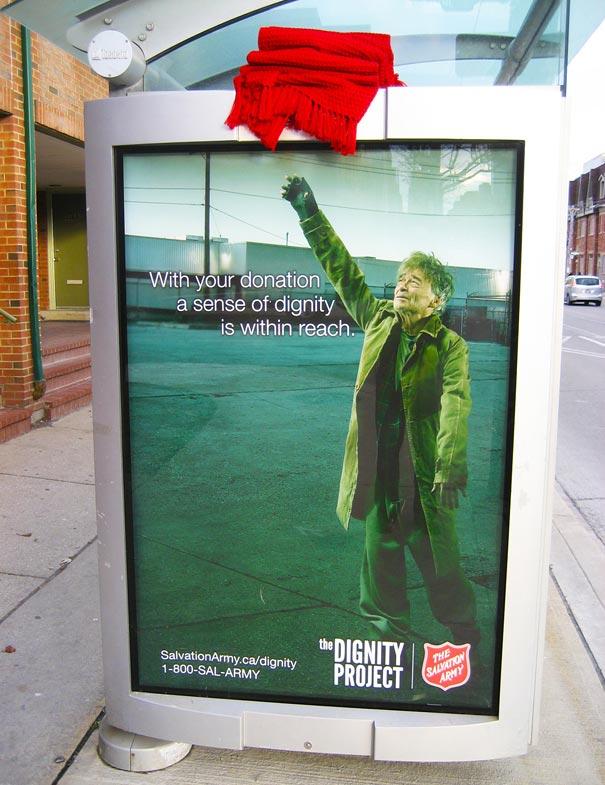 40 דוגמאות לפרסום קריאייטיבי וחכם בתחנות אוטובוס (41)