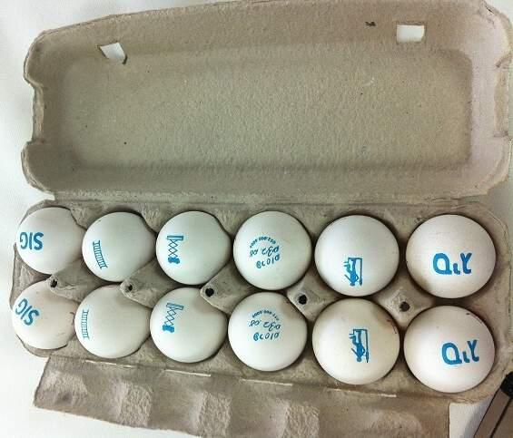הדבר המוזר הבא? פרסום על ביצים