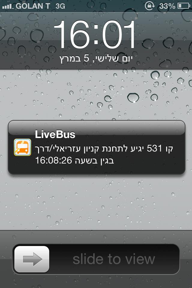 LiveBus - לייב באס