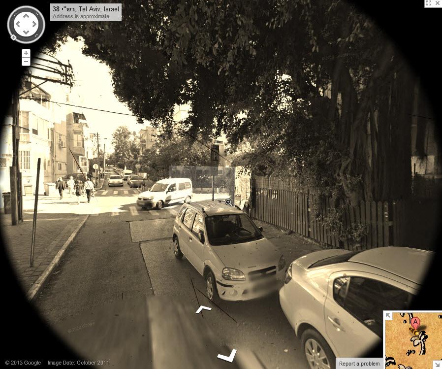 מתיחת האחד באפריל של גוגל: אתר המפות הופך לאתר מפות מטמון