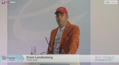 הרצאה: ינון לנדנברג בכנס בלונדון - לבנות את החללית החברתית הראשונה