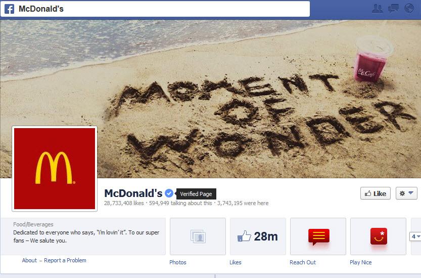 פייסבוק: הרשת החברתית החלה היום לאמת עמודי אוהדים