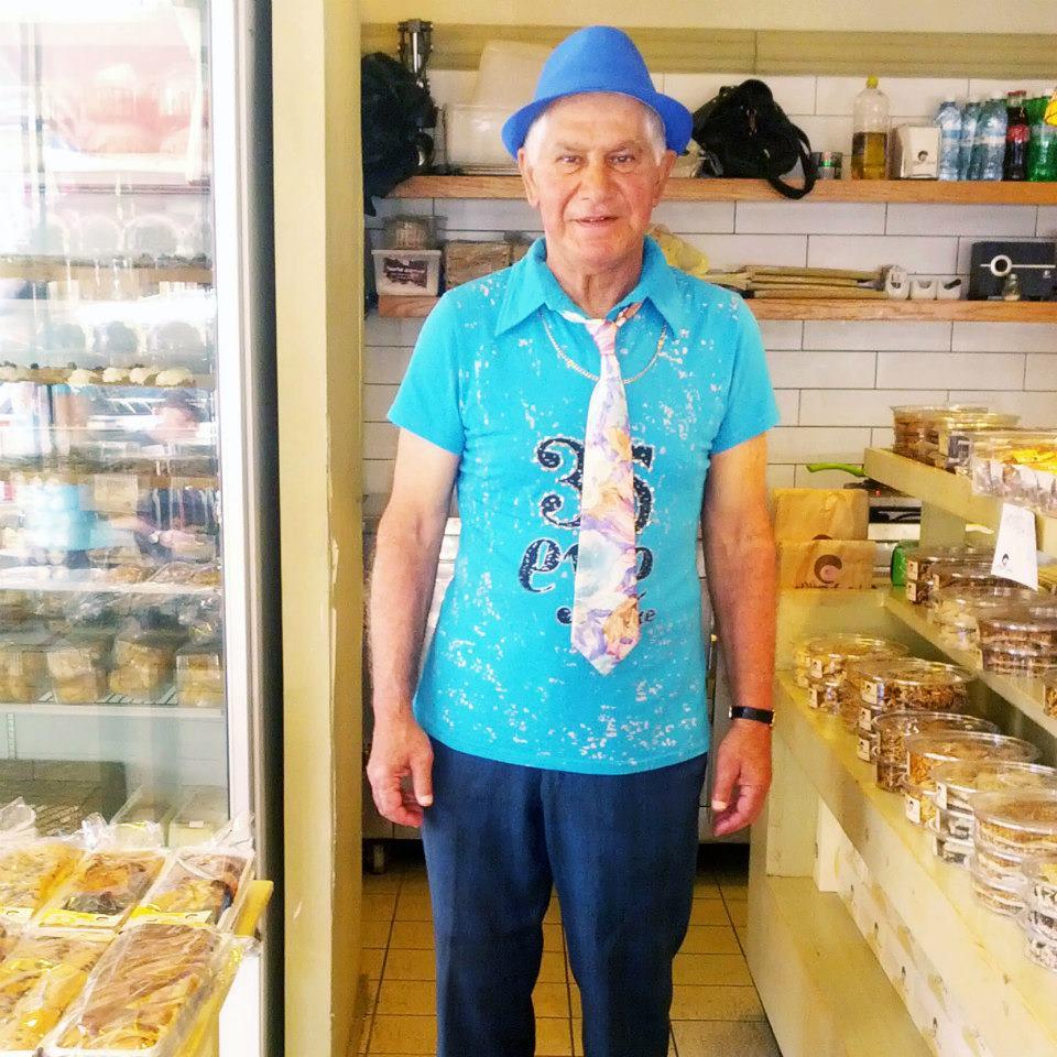 הקשיש הכי מגניב בישראל? צדף / צילום: יעל שבתאי
