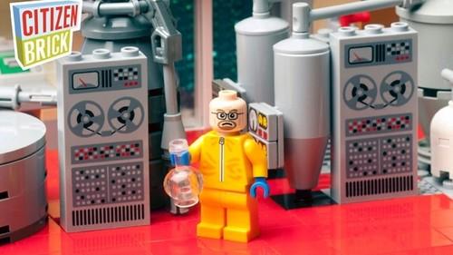 רץ ברשת: לגו של מעבדה לייצור קריסטל מת' ברוח הסדרה שובר שורות
