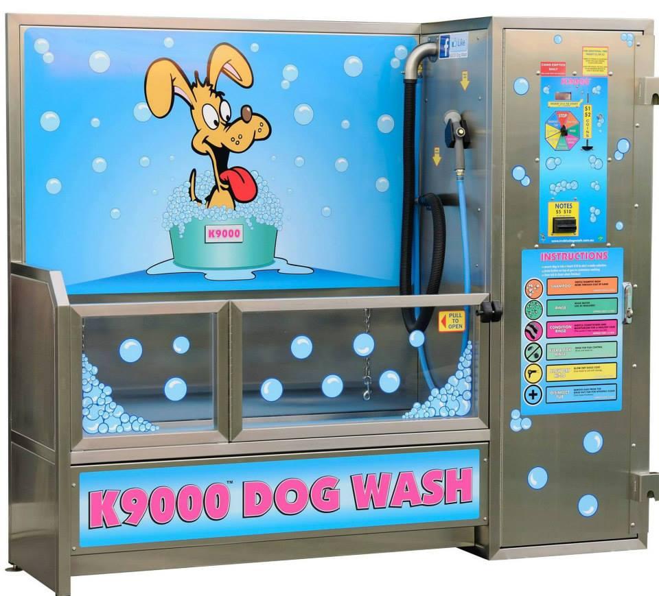 """בקרוב בת""""א - Dog Wash, שטיפת כלבים בשירות עצמי"""