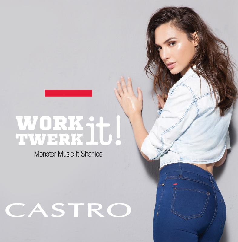 גל גדות ומונסטר מיוזיקה - work it twerk it