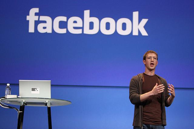 מארק צוקרברג, פייסבוק