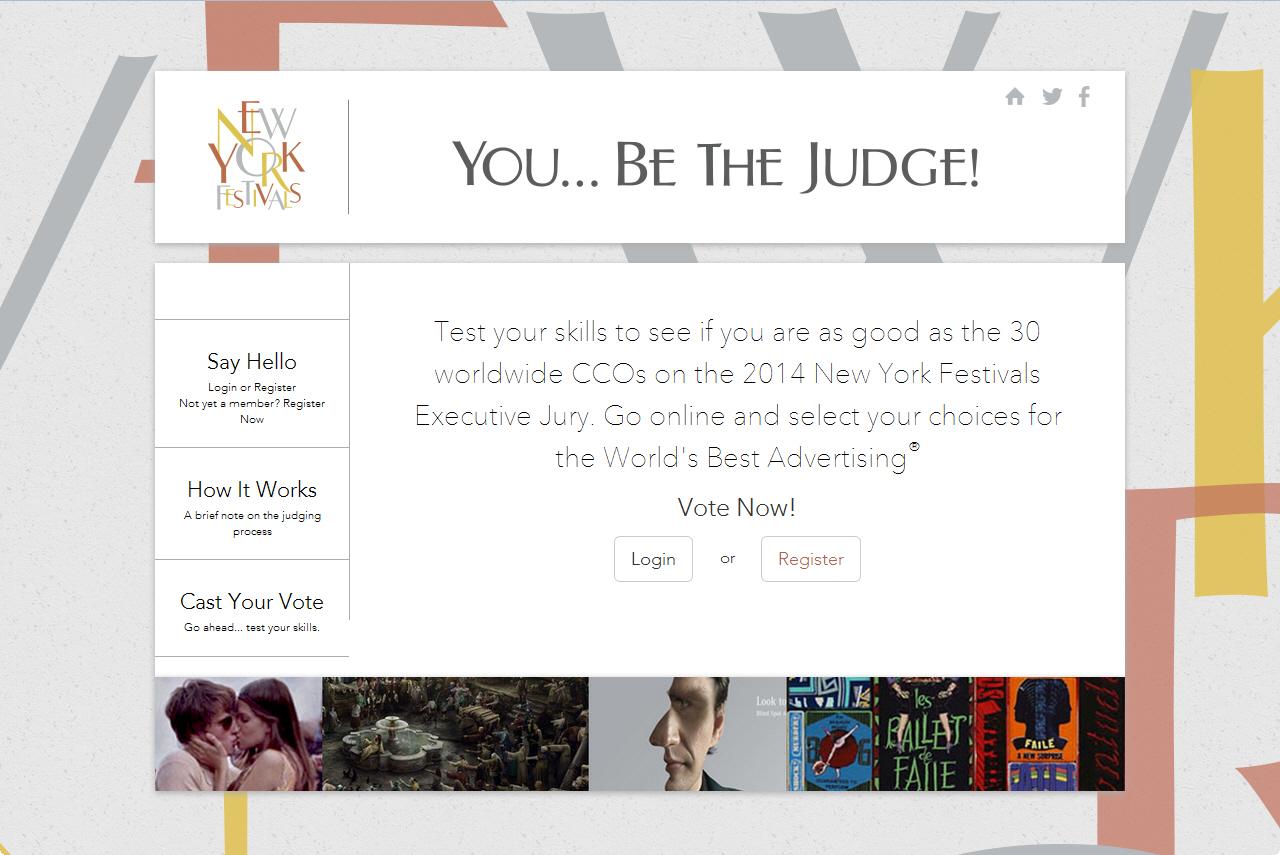 תמיד חלמתם לשפוט בתחרות פרסום? לראשונה פסטיבל ניו יורק מאפשר לגולשים לשפוט