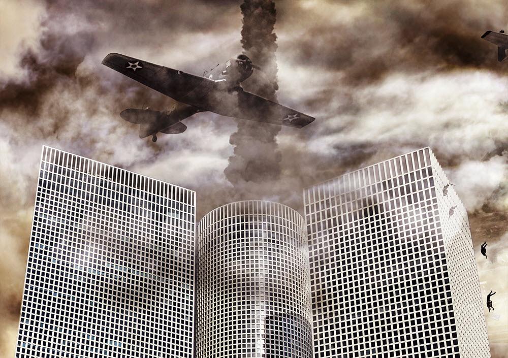 פרויקט סוריאליסטי-אפוקליפטי חדש מציג את תל אביב ביום שאחרי ההפצצה