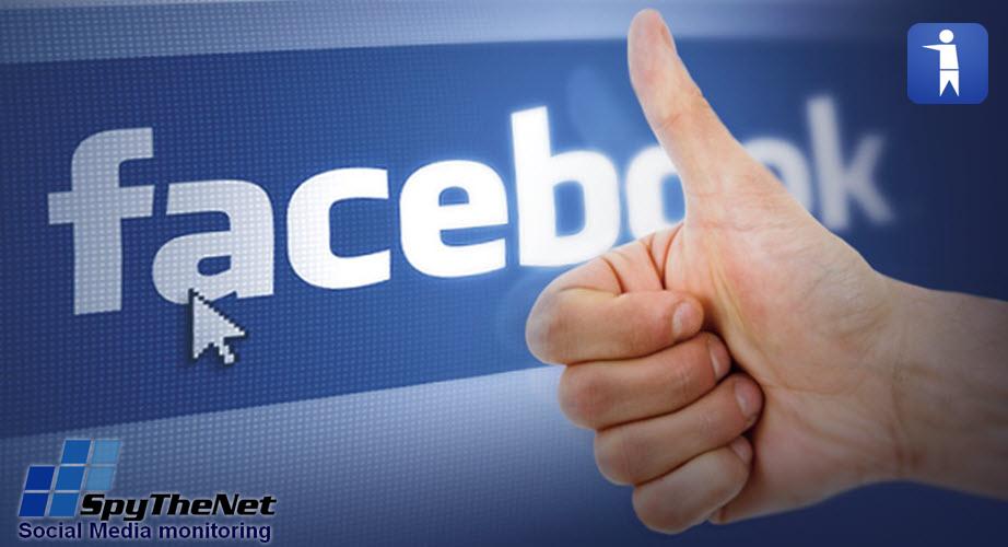 מדרג עמודי הפייסבוק של SpyTheNet והמזבלה
