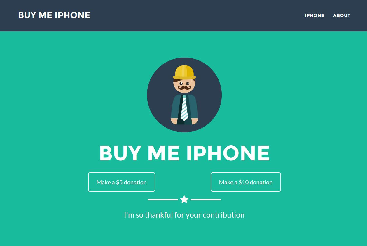 גולש ישראלי רוצה שתממנו לו רכישה של האייפון 6 החדש, למה? ככה!