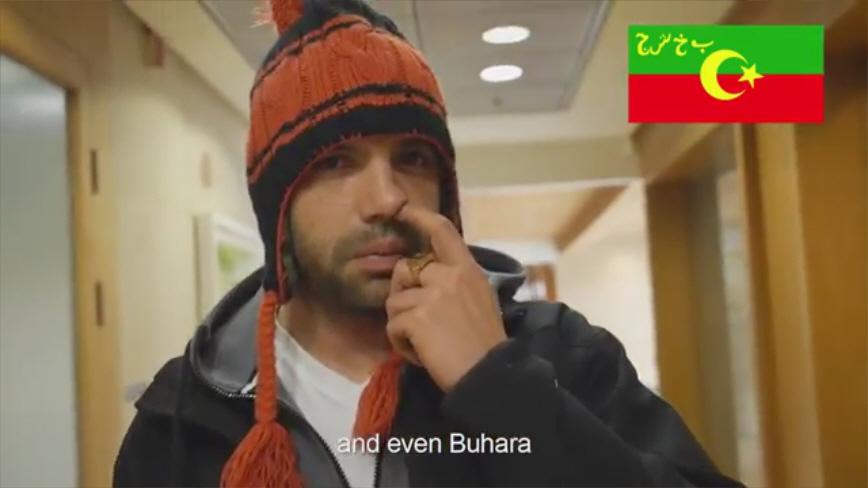 מתוך הסרטון של באומן בר ריבנאי