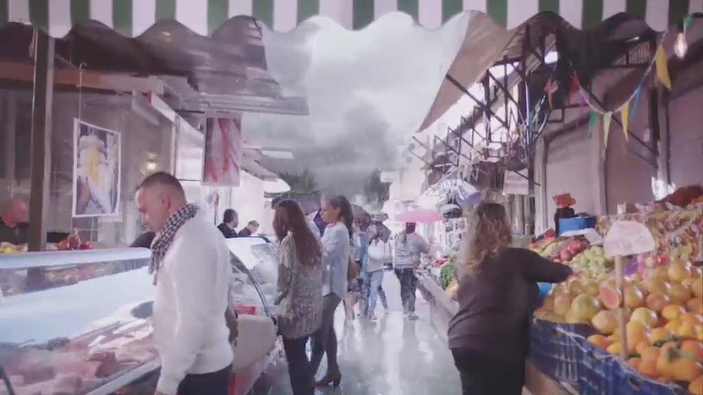 אסון בשוק - מתוך הפרסומת