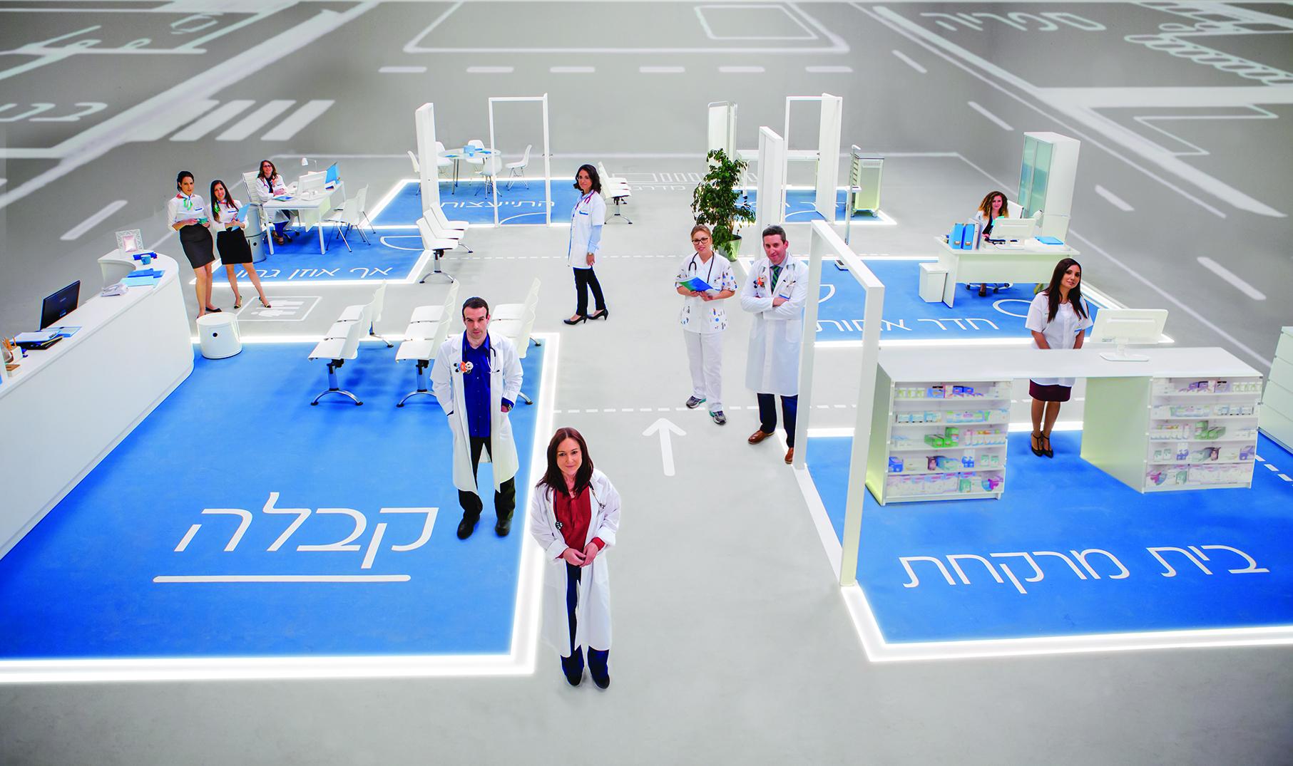 שיטת המרכזים הרפואיים