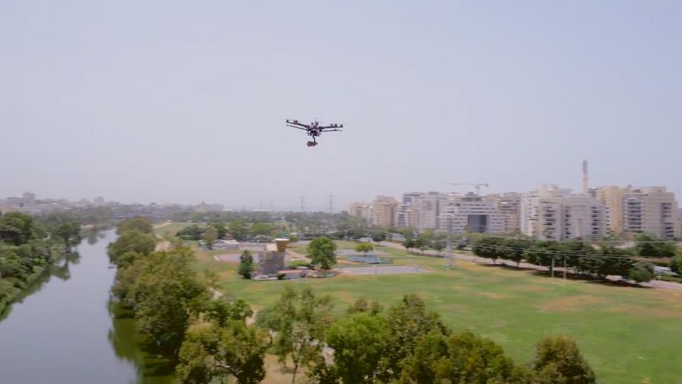 על ה-Drone: יהושע\TBWA משיקים את ה-LG G4