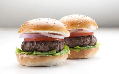 מיני המבורגר קלאסי בורגרסבר צילום: סטודיו דן לב